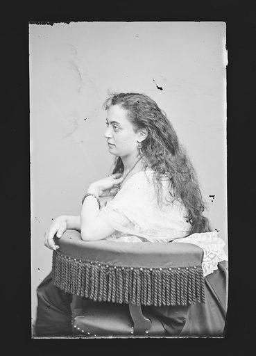 Hannah Albertine. Sitter: Hannah Albertine. Date: 1860s. Record ID: npg_NPG.81.M316.