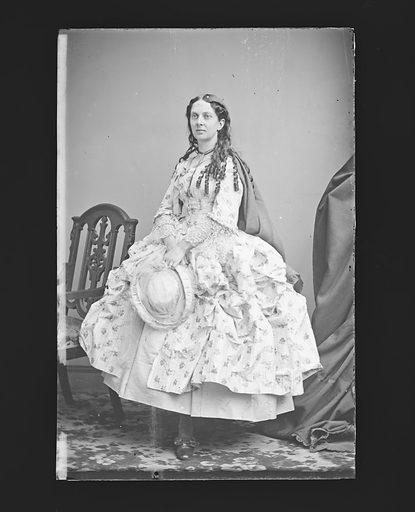 Mrs. J. H. [Louise] Allen. Sitter: Louise Allen, c. 1840 – 1911. Date: 1860s. Record ID: npg_NPG.81.M321.
