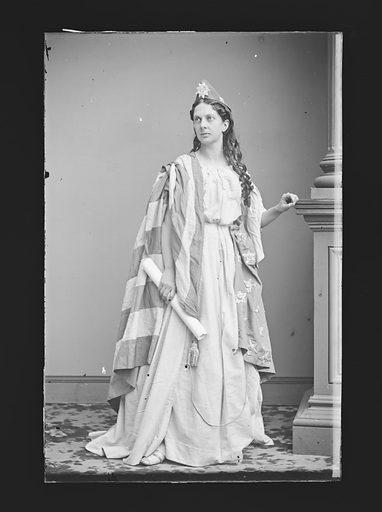 Mrs. J. H. Allen. Sitter: Louise Allen, c. 1840 – 1911. Date: 1860s. Record ID: npg_NPG.81.M209.