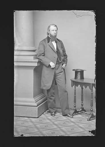 Henry B. Anthony. Sitter: Henry Bowen Anthony, 1 Jan 1815 – 2 Sep 1884. Date: 1860s. Record ID: npg_NPG.81.M337.