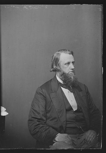 Henry B. Anthony. Sitter: Henry Bowen Anthony, 1 Jan 1815 – 2 Sep 1884. Date: 1860s. Record ID: npg_NPG.81.M338.2.