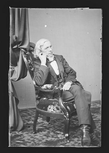 Timothy S. Arthur. Sitter: Timothy Shay Arthur, 6 Jun 1809 – 6 Mar 1885. Date: 1860s. Record ID: npg_NPG.81.M343.