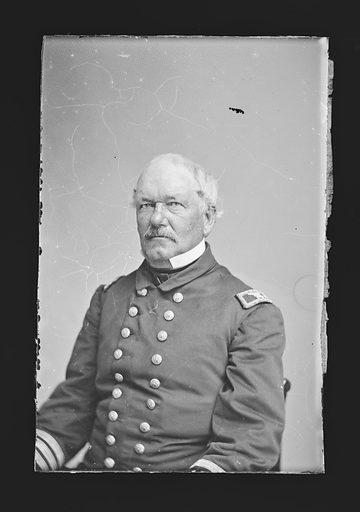 Theodorus Bailey. Sitter: Theodorus Bailey, 1805 – 1877. Date: 1860s. Record ID: npg_NPG.81.M352.