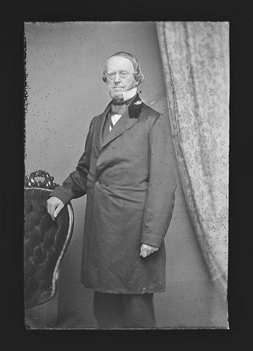 Roger S. Baldwin. Sitter: Roger Sherman Baldwin, 4 Jan 1793 – 19 Feb 1863. Date: 1860s. Record ID: npg_NPG.81.M359.