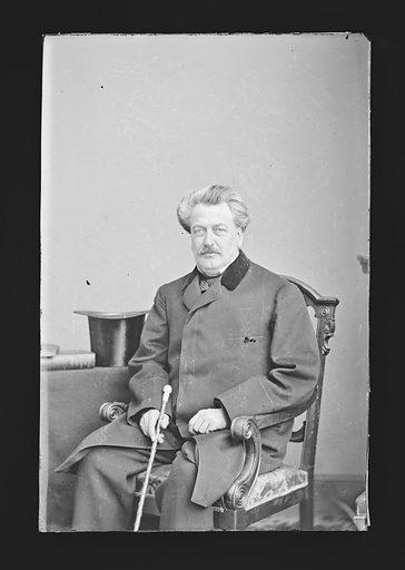 Hiram Barney. Sitter: Hiram Barney, 1811 – 1895. Date: 1860s. Record ID: npg_NPG.81.M376.
