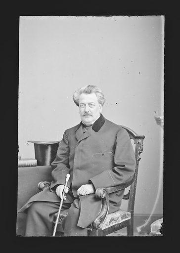 Hiram Barney. Sitter: Hiram Barney, 1811 – 1895. Date: 1860s. Record ID: npg_NPG.81.M377.