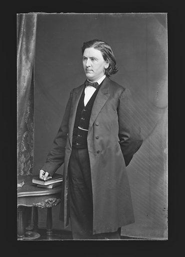 Alvin Bartlett. Sitter: Alvin Bartlett. Date: 1860s. Record ID: npg_NPG.81.M386.