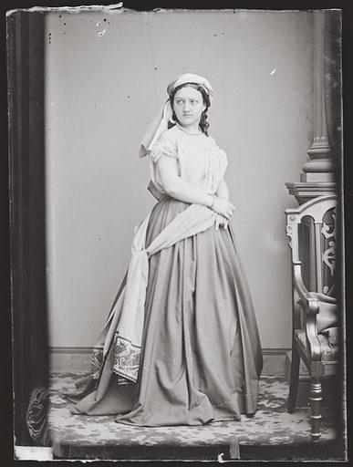 Kate Bateman. Sitter: Kate Josephine Bateman, 7 Oct 1842 – 8 Apr 1917. Date: 1860s. Record ID: npg_NPG.81.M210.