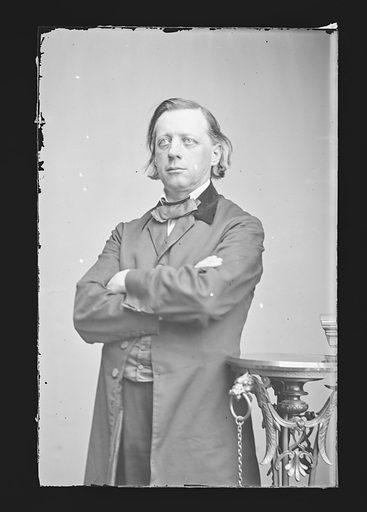 Henry Ward Beecher. Sitter: Henry Ward Beecher, 24 Jun 1813 – 8 Mar 1887. Date: 1860s. Record ID: npg_NPG.81.M20.