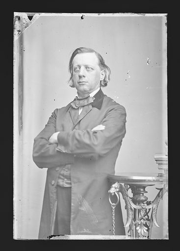 Henry Ward Beecher. Sitter: Henry Ward Beecher, 24 Jun 1813 – 8 Mar 1887. Date: 1860s. Record ID: npg_NPG.81.M22.