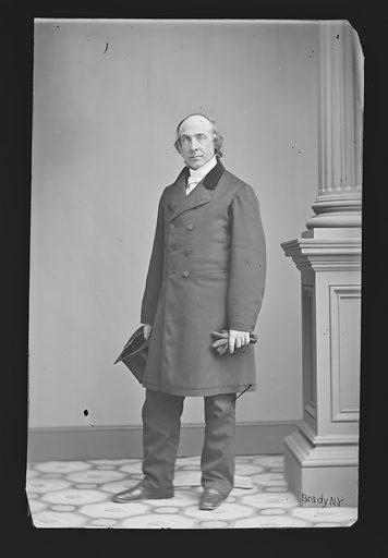 Henry W. Bellows. Sitter: Henry Whitney Bellows, 1814 – 1882. Date: 1860s. Record ID: npg_NPG.81.M410.