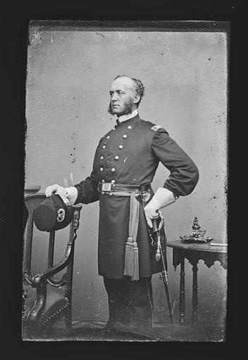 Hiram Berdan. Sitter: Hiram Berdan, c. 1823 – 1893. Date: 1860s. Record ID: npg_NPG.81.M413.