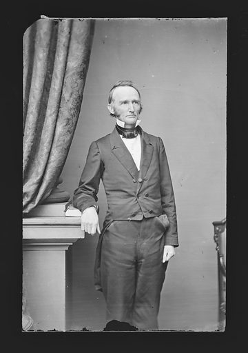 Montgomery Blair. Sitter: Montgomery Blair, 10 May 1813 – 27 Jul 1883. Date: 1860s. Record ID: npg_NPG.81.M429.