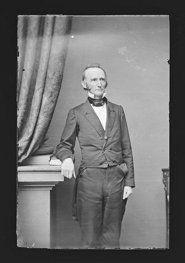Montgomery Blair. Sitter: Montgomery Blair, 10 May 1813 – 27 Jul 1883. Date: 1860s. Record ID: npg_NPG.81.M430.