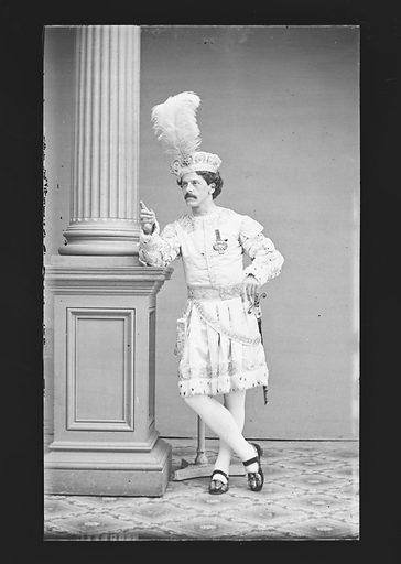 J. W. Blaisdell. Sitter: J. W. Blaisdell. Date: 1860s. Record ID: npg_NPG.81.M431.