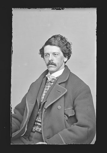 J. W. Blaisdell. Sitter: J. W. Blaisdell. Date: 1860s. Record ID: npg_NPG.81.M434.