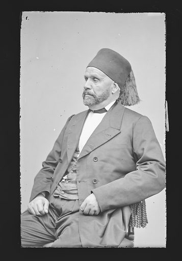 Edouard Blacque Bey. Sitter: Edouard Blacque Bey, 1824 – 1895. Date: 1860s. Record ID: npg_NPG.81.M440.
