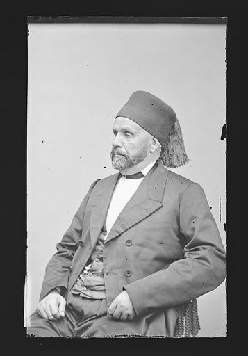 Edouard Blacque Bey. Sitter: Edouard Blacque Bey, 1824 – 1895. Date: 1860s. Record ID: npg_NPG.81.M441.