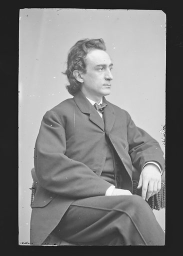 Edwin Booth. Sitter: Edwin Thomas Booth, 13 Nov 1833 – 7 Jun 1893. Date: 1860s. Record ID: npg_NPG.81.M28.