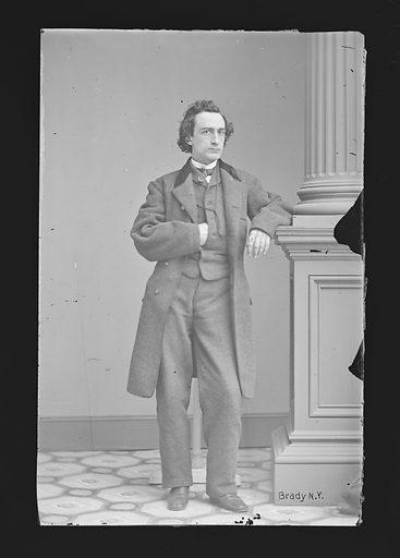Edwin Booth. Sitter: Edwin Thomas Booth, 13 Nov 1833 – 7 Jun 1893. Date: 1860s. Record ID: npg_NPG.81.M33.