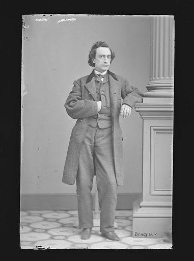 Edwin Booth. Sitter: Edwin Thomas Booth, 13 Nov 1833 – 7 Jun 1893. Date: 1860s. Record ID: npg_NPG.81.M34.
