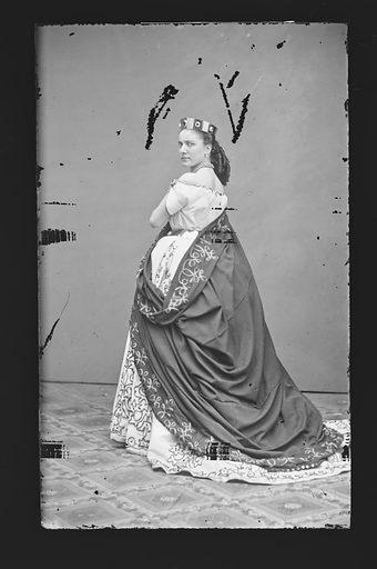 Angiolina Bosisio. Sitter: Angiolina Bosisio. Date: 1860s. Record ID: npg_NPG.81.M458.