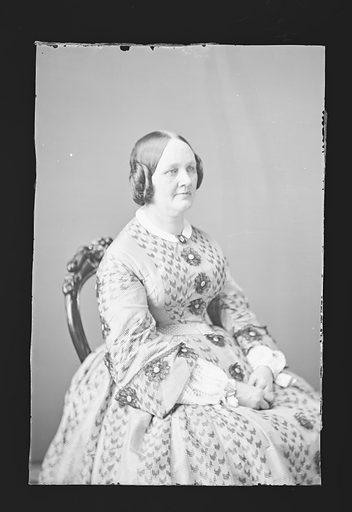 Emma G. Bostwick. Sitter: Emma G. Bostwick. Date: 1860s. Record ID: npg_NPG.81.M462.