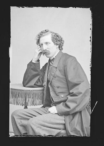 Charles F. Browne. Sitter: Charles Farrar Browne, 26 Apr 1834 – 6 Mar 1867. Date: 1850s. Record ID: npg_NPG.81.M478.
