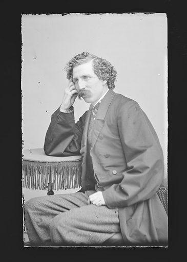 Charles F. Browne. Sitter: Charles Farrar Browne, 26 Apr 1834 – 6 Mar 1867. Date: 1850s. Record ID: npg_NPG.81.M479.
