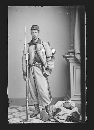 Francis E. Brownell. Sitter: Francis Edwin Brownell, 1839 – 1894. Date: 1860s. Record ID: npg_NPG.81.M482.