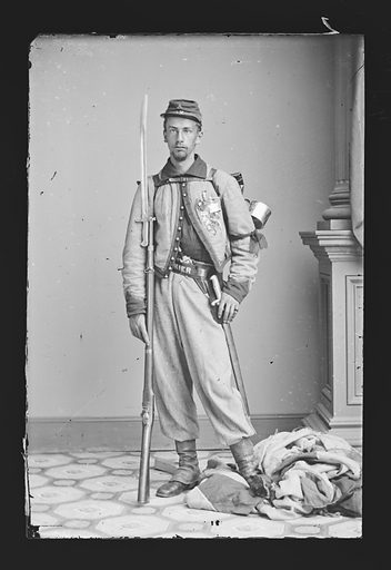 Francis E. Brownell. Sitter: Francis Edwin Brownell, 1839 – 1894. Date: 1860s. Record ID: npg_NPG.81.M263.
