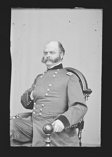 Ambrose Everett Burnside. Sitter: Ambrose Everett Burnside, 23 May 1824 – 13 Sep 1881. Date: 1880s. Record ID: npg_NPG.81.M42.