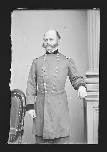 Ambrose Everett Burnside. Sitter: Ambrose Everett Burnside, 23 May 1824 – 13 Sep 1881. Date: 1880s. Record ID: npg_NPG.81.M43.