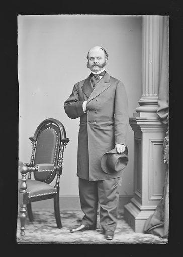 Ambrose Everett Burnside. Sitter: Ambrose Everett Burnside, 23 May 1824 – 13 Sep 1881. Date: 1880s. Record ID: npg_NPG.81.M46.