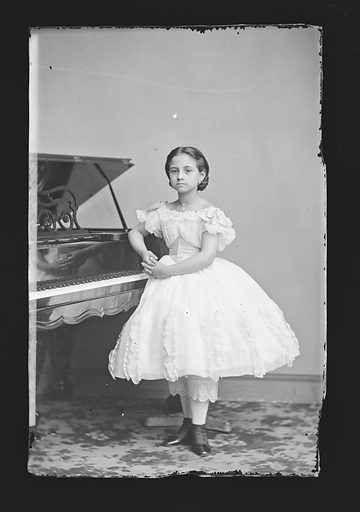 Teresa Carreño. Sitter: Teresa Carreño, 1853 – 1917. Date: 1860s. Record ID: npg_NPG.81.M531.