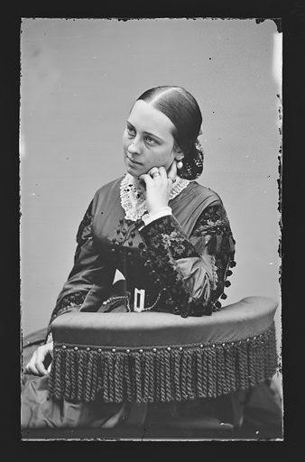 Henrietta Baker Chanfrau. Sitter: Henrietta Baker Chanfrau, 1837 – 1909. Date: 1860s. Record ID: npg_NPG.81.M540.