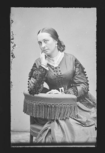 Henrietta Baker Chanfrau. Sitter: Henrietta Baker Chanfrau, 1837 – 1909. Date: 1860s. Record ID: npg_NPG.81.M541.