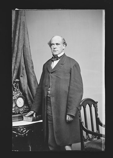 Salmon P. Chase. Sitter: Salmon Portland Chase, 13 Jan 1808 – 7 May 1873. Date: 1860s. Record ID: npg_NPG.81.M55.