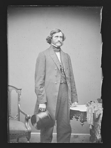 Daniel Clark. Sitter: Daniel Clark, 24 Oct 1809 – 2 Jan 1891. Date: 1860s. Record ID: npg_NPG.81.M549.