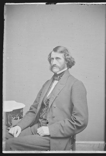 Daniel Clark. Sitter: Daniel Clark, 24 Oct 1809 – 2 Jan 1891. Date: 1860s. Record ID: npg_NPG.81.M550.1.