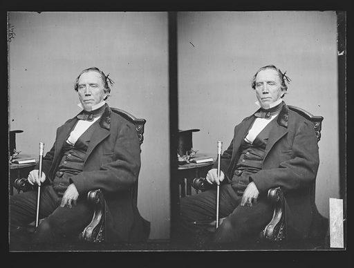 Thomas H. Clay. Sitter: Thomas Hart Clay, 1803 – 1871. Date: 1860s. Record ID: npg_NPG.81.M559.1.