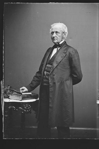 Jacob Collamer. Sitter: Jacob Collamer, 8 Jan 1792 – 9 Nov 1865. Date: 1860s. Record ID: npg_NPG.81.M577.1.