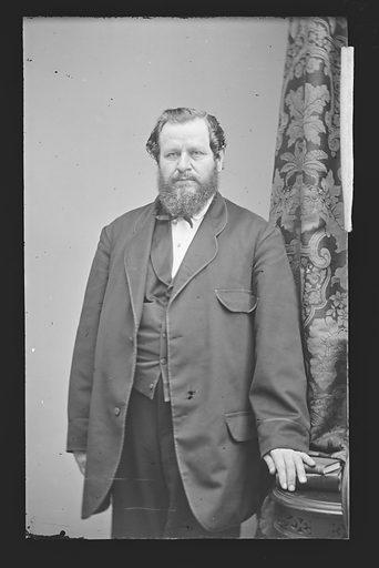 Joseph Cook. Sitter: Joseph Cook. Date: 1860s. Record ID: npg_NPG.81.M580.