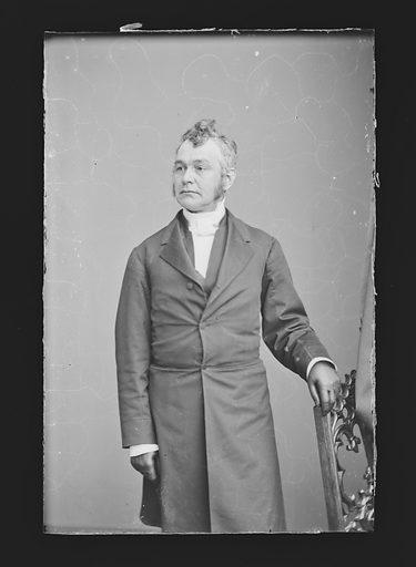Authur Cleveland Coxe. Sitter: Arthur Cleveland Coxe, 1818 – 1896. Date: 1860s. Record ID: npg_NPG.81.M600.