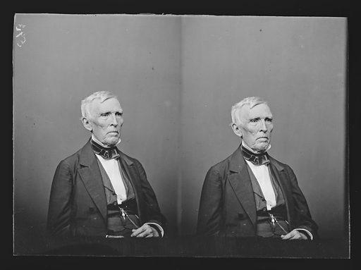 John J. Crittenden. Sitter: John Jordan Crittenden, 10 Sep 1787 – 26 Jul 1863. Date: 1850s. Record ID: npg_NPG.81.M605.2.