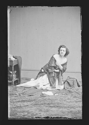 Pauline Cushman. Sitter: Pauline Cushman, 10 Jun 1833 – 2 Dec 1893. Date: 1860s. Record ID: npg_NPG.81.M614.