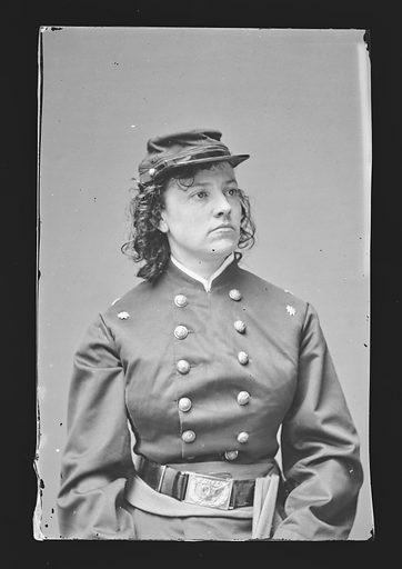 Pauline Cushman. Sitter: Pauline Cushman, 10 Jun 1833 – 2 Dec 1893. Date: 1860s. Record ID: npg_NPG.81.M616.