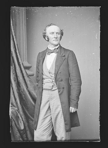 Edward L. Davenport. Sitter: Edward Loomis Davenport, 19 Nov 1814 – 1 Sep 1877. Date: 1860s. Record ID: npg_NPG.81.M224.