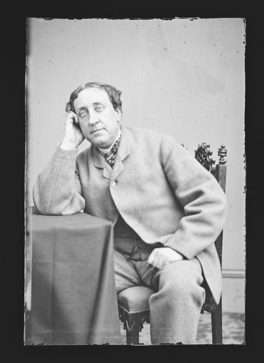 William Davidge. Sitter: William Pleater Davidge, 17 Apr 1814 – 7 Aug 1888. Date: 1860s. Record ID: npg_NPG.81.M638.
