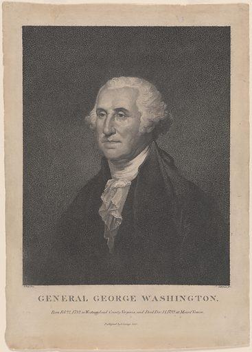 George Washington. Sitter: George Washington, 22 Feb 1732 – 14 Dec 1799. Date: 1800s. Record ID: npg_NPG.77.227.